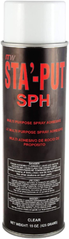 Dicor 001-SPH15ACC Spray Adhesive Rapid rise Mail order fl. 15 oz. -