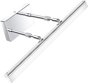 Modern LED Bathroom Vanity lights - LEDMO Adjustable 24 inch Retractable Modern Vanity Lighting 6000K