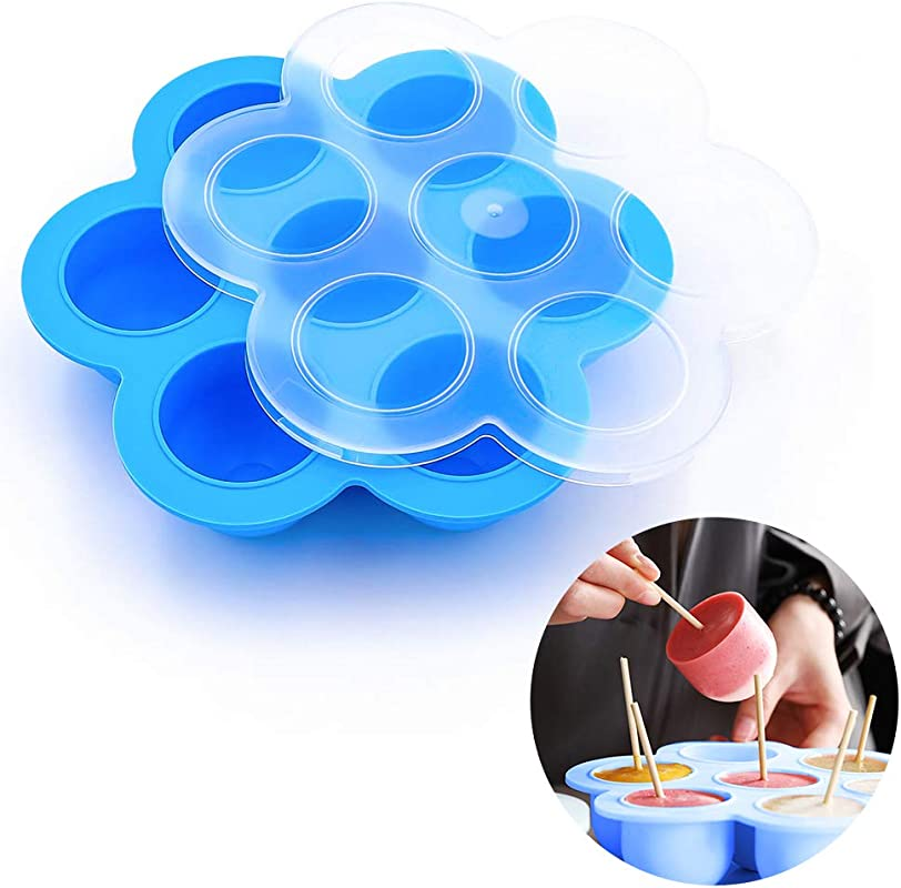 Egg Bites Mold For Instant Pot Kmeivol Egg Bite Molds For Microwave Silicone Egg Bites Molds For Instant Pot Accessories Fits Instant Pot 5 6 8 Qt Pressure Cooker Food Storage Container With Lid