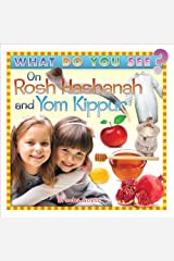 What Do You See on Rosh Hashanah and Yom Kippur? Board book