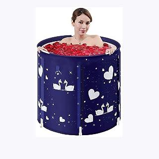 CCDDP Plastic Bathtub - Foldable Bath Tub, Practical, Portable Tub, Thickened and Insulated