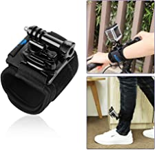 for GoPro Wrist Strap, 360 Degree Rotary for GoPro Accessory for GoPro Hero 7 6 5 4 Black White Silver Accessories Wrist Band Mount Secure on Wrist or Arm with Thumb Screw Lightweight Easy to Shoot