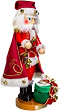 Kurt Adler ES3011 Steinbach Jingle Bells Santa Musical Nutcracker Christmas Décor, STD, Multicolored
