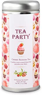 Party Tea: Raspberry Ti Kwan Yin Oolong, All-Natural blend, Immune booster, Antioxidants, Slimming Tea, 24 Servings …