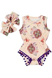 Zimaes-Baby Toddler Kid Short Sleeve African Style Undershirts Bodysuits Outfits