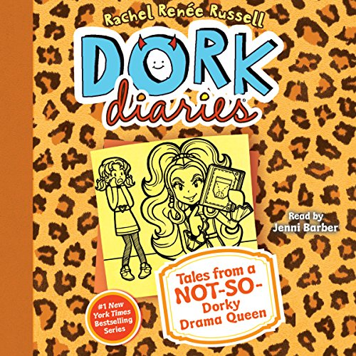 Dork Diaries 9 audiobook cover art