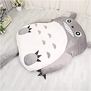 MUY Totoro Lazy Sofá Cama, Colchón De Dibujos Animados Tatami Dormitory Colchón Plegable Sofa Bed, Double Dormitory Adultos Y Niños,1.2 * 1.9m