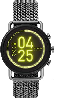 Skagen Connected Falster 3 Gen 5 Stainless Steel Touchscreen Smartwatch with Heart Rate, GPS, NFC, and Smartphone Notifica...
