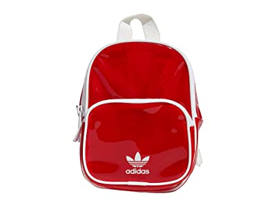 adidas Originals Originals Mini Tinted Backpack (Lush Red/White) Backpack Bags