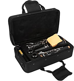 Clarinete de 17 llaves, en Si bemol, baquelita, con paño de limpieza