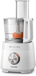 Philips Daily Collection Compact Food Processor HR7520/01, 850W, 30 functions, with Citrus Press & mill., 2 Year Warranty