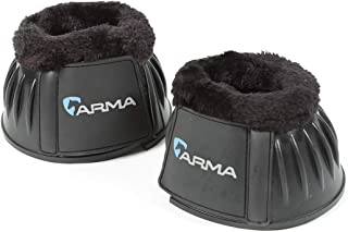 Shires Arma Trim Bell Boots Black Full