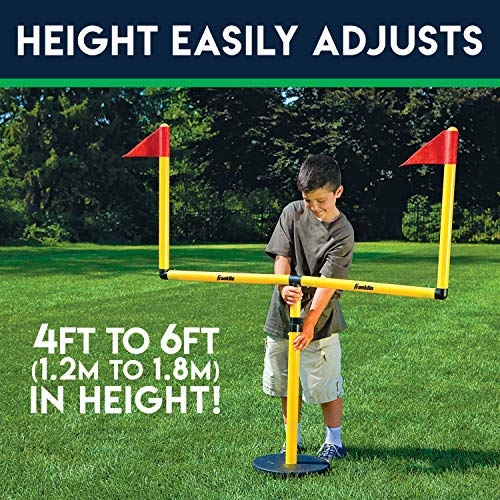 Franklin Sports Youth Football Adjustable Two Goal Post Set