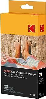 Kodak–Cartucho Mc impresión fotográfica mini todo en uno tinta y papel lote de 20 compatible con cámara Mini Shot impresora Mini 2