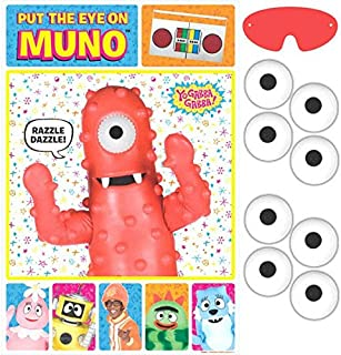 Hip and Hop Yo Gabba Gabba Party Game |Birthday Party Favors | Toy and Prize Giveaway