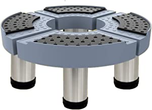 LYQQQQ Multifunctionele Base Wasmachine Base, Droger Basis en Koelkast Base, Kabinet Base 42-50X42-50cm (Maat: 20cm)