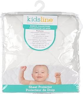 kidsline Waterproof Sheet Protector, Ecru Velour