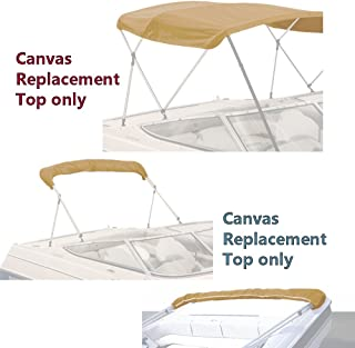 4 Bow Bimini Replacement Top Canvas Cover with Storage Boot Multi Color/Without Frame