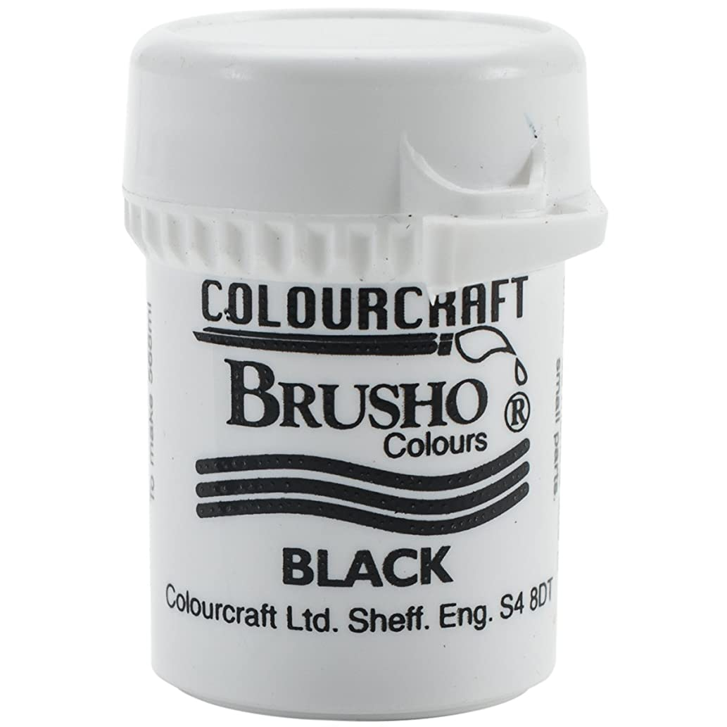 PanPastel BRB12-BK Brusho Crystal Colour 15g-Black,