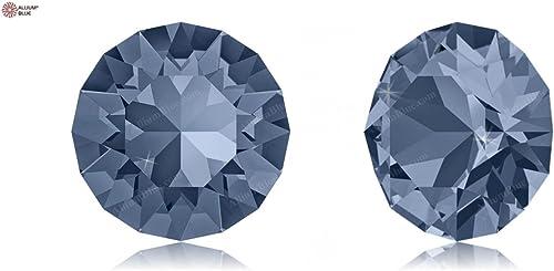 Cristaux de Swarovski 1173001 Pierres Rondes 1088 PP 24 Denim bleu F, 1440 Pièces