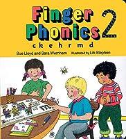 Finger Phonics Book 2: C, K, E, H, M, D/Board Book (C,K,E,H,M,D)