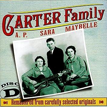 The Carter Family 1927 - 1934 Disc D