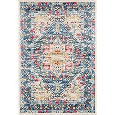 Lux Weavers 6197 Multi Colored Oriental 5 x 7 Area Rug Carpet Large New