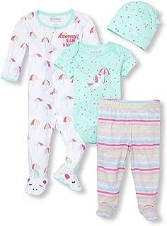 The Children's Place Baby Girls Mommy's Little Unicorn Sleepwear Set