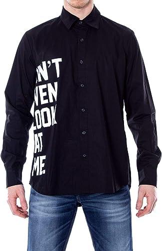 Hydra Clothing Homme CURIOUSnoir Noir Coton Chemise