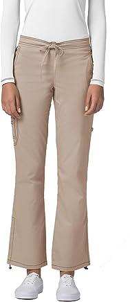 Adar Pop-Stretch Junior Fit Low Rise Boot Cut Bungee Leg Pants
