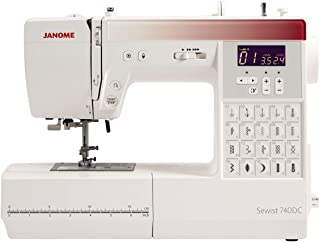 Janome 740DC Sewing Machine with Bonus Bundle (Renewed)