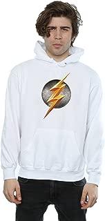 Men's Justice League Movie Flash Emblem Hoodie