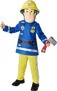Rubie´s Rubie´s Rubies Official Kiid's Fireman Sam Costume - Small, Multi-Coloured, 610901S