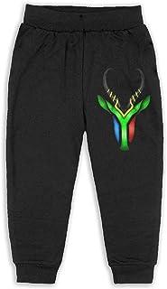 Easionerol South African Springbok Girls Long Sweatpants Jogger Trousers
