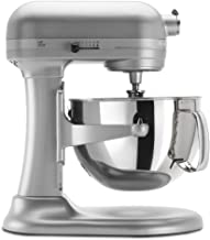 KitchenAid KP26M1XNP 6 Qt. Professional 600 Series Bowl-Lift Stand Mixer – Nickel Pearl