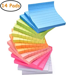 lined post it note pads