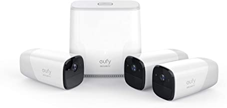 Eufy Cam Wire Free HD Security 3-Camera Set, (T8804CD2)