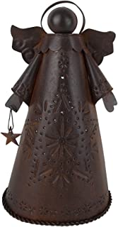 Craft Outlet Tin Angel Tree Topper, 10