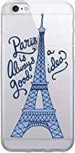 OTM Essentials Paris, iPhone 6/6s Plus Clear Phone Case