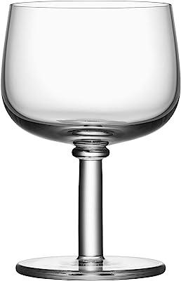 Kosta Boda Viva 12 oz. All Purpose Stemware Glass, Set of 2,