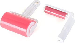 Sticky Master Lint Roller - 2 Piece Value Set - Tapeless, Washable, and Reusable Lint Remover and Travel Size Roller