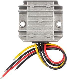 uxcell Power Converter Regulator DC 48V/60V to DC 5V 10A 50W Waterproof Voltage Convert Transformer
