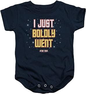 Star Trek I just Boldly Went Baby Onesie Bodysuit