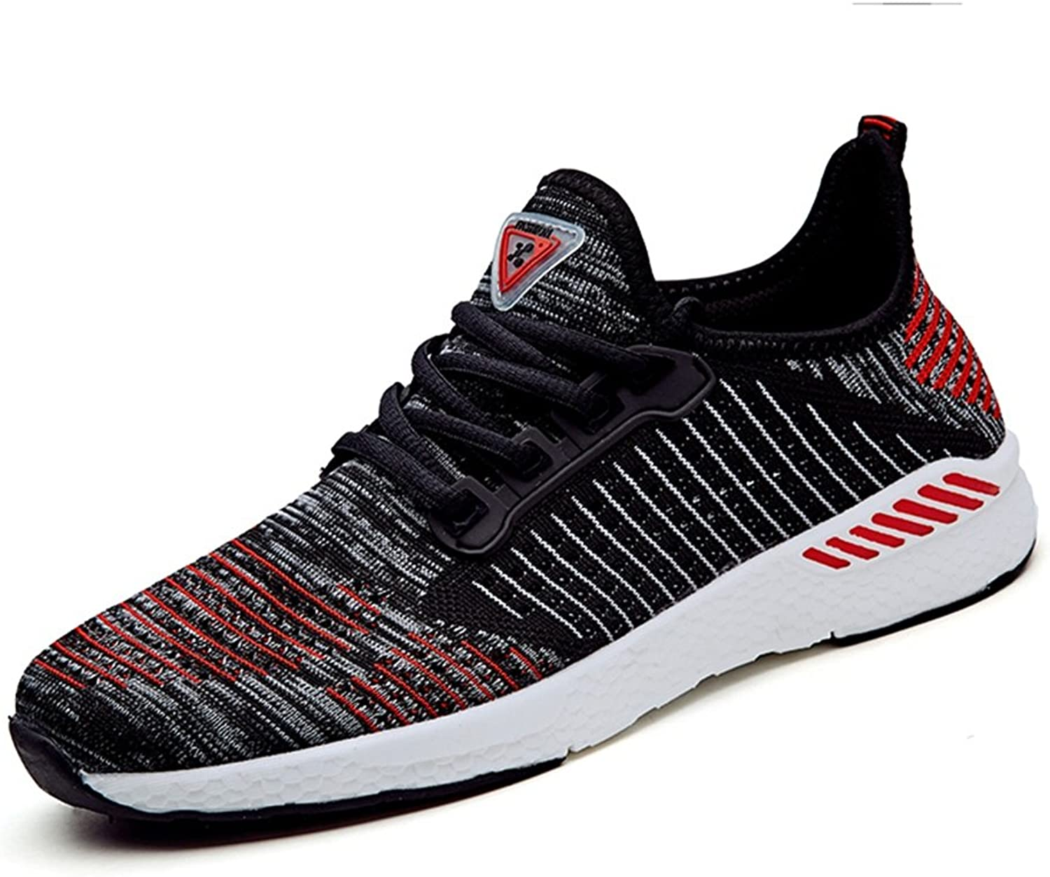 MUMUWU Women And Men's Flat Heel Lace Up Mesh Fabric Vamp Fashionable Athletic shoes Up To Size 10.5MUS Sport shoes