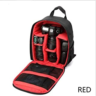 Hqeupiao Camera Bag Laptop Travel Backpack Gadget Bag Rain Cover for Canon Nikon Sony Fujifilm Panasonic Pentax Samsung Olympus