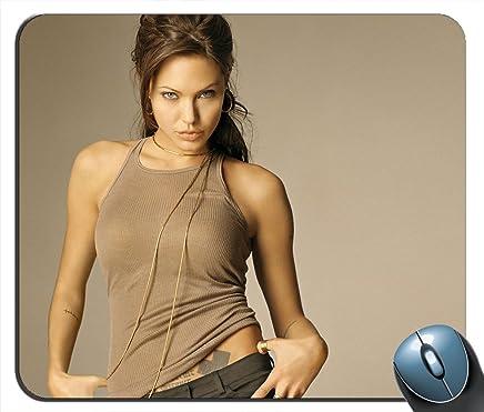 Angelina Jolie V1408alfombrilla de mouse
