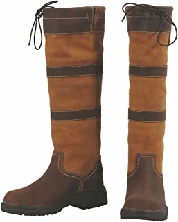 tuffrider 女式 lexington 防水高筒靴