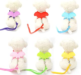 mymerlove Cute Angel Pet Dog Leashes Cats Puppy Leads Wing Straps Adjustable Harness
