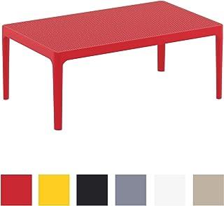 Amazon.fr : table de jardin plastique - Rouge