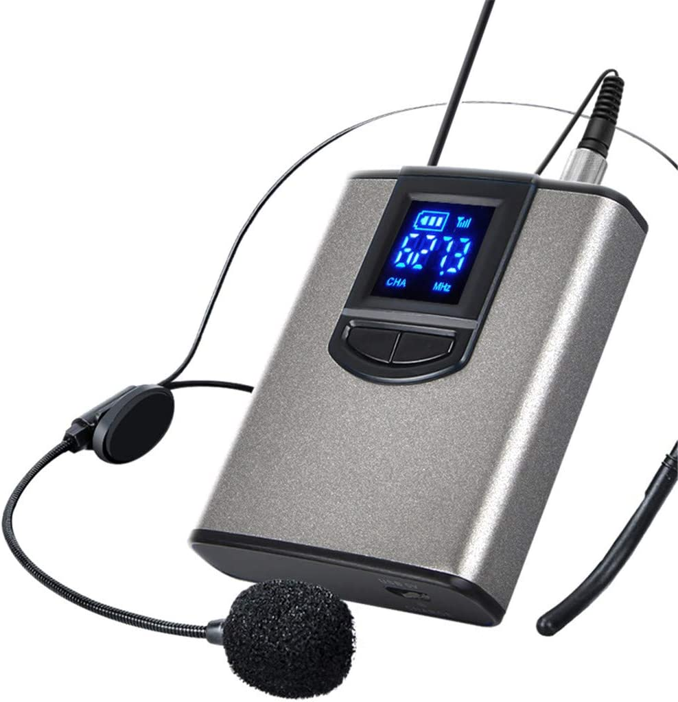 Wireless Headset Lavalier Microphone System Fees free!! Limited price sale Wireles UHF Clip on